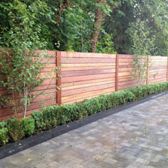 Contemporary Screening , Fencing U0026 Wall Panels: Garden By Paul Newman  Landscapes