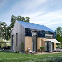 Casas de estilo  de ecohome 4.2