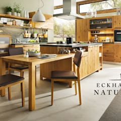 rustic Kitchen by Eckhart Bald Naturmöbel