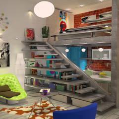 by blucactus design Studio Eclectic