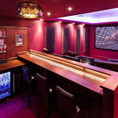 Media room by Inspire Audio Visual,