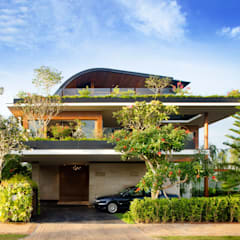 Meera House:  Houses by Guz Architects