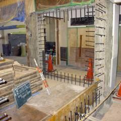 耐震改修工事中: プライム建築設計が手掛けた会議・展示施設です。