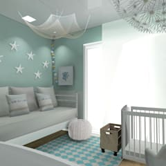 mediterranean Nursery/kid's room by CARMAN INTERIORISMO
