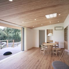 Living room by ㈱ライフ建築設計事務所, Modern