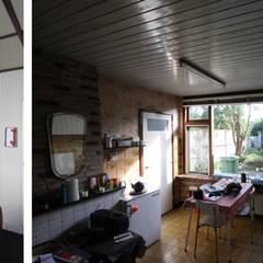 opname originele woning: modern  door Obliq Architectuur, Modern