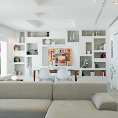 Living room by DEFPOINT STUDIO   architettura  &  interni,