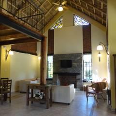 Solares de la Laguna - CLUB HOUSE: Bares y Clubs de estilo  por D'ODORICO OFICINA DE ARQUITECTURA