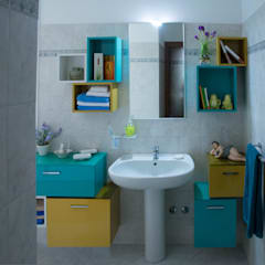 Bathroom by Arreda Progetta di Alice Bambini,