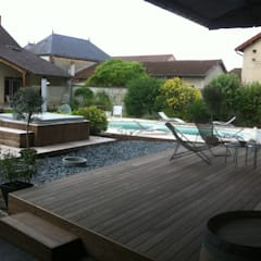 Détente au jardin: Spa de style de style Moderne par Ledoux Jardin