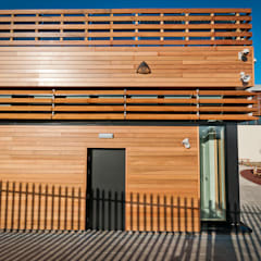Think Low Carbon Centre:  Office buildings by Jefferson Sheard Architects,