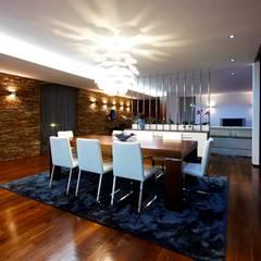 غرفة السفرة تنفيذ Risco Singular - Arquitectura Lda, تبسيطي