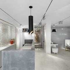 LIVE - Restaurante e SPA Showroom LoveTiles: Cozinhas  por Ana Rita Soares- Design de Interiores