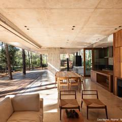 Casa Marino: Livings de estilo  por ATV Arquitectos