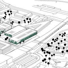 Diagram 8: Musées de style  par NAS Architecture