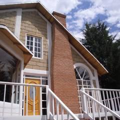 Cabaña Tlalpujahua, Michoacán.: Casas de estilo  por JRK Diseño - Studio Arquitectura, Rústico