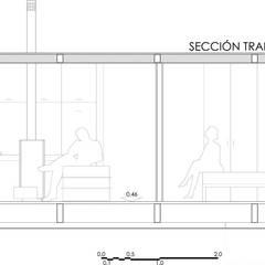 PROTOTIPO DE VIVIENDA UNIFAMILIAR PREFABRICADA, CON JURGEN VAN WEERELD I KARIN GIESBERTS: Casas de estilo  de DMP arquitectura