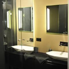 Projekt 5/34 Nowoczesna łazienka od k.halemska Nowoczesny