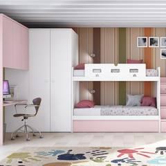 Litera adaptada: Dormitorios infantiles de estilo  de Toca Fusta