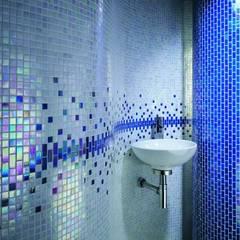 Betaş Cam Mozaik Ltd.Şti. – Mavi Işıltı:  tarz Banyo
