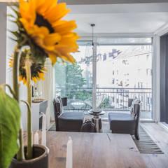 DUESSELDORF MODEL APARTMENT:  Wintergarten von edit home staging