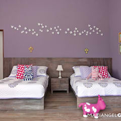 Dormitorios infantiles de estilo  por MARIANGEL COGHLAN