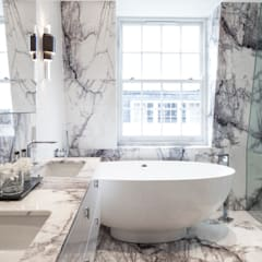 Eaton Mews North: Belgravia:  Bathroom by Roselind Wilson Design