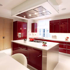 Palace Court: Bayswater:  Built-in kitchens by Roselind Wilson Design
