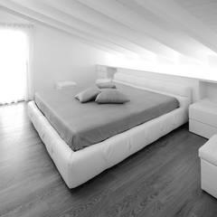 غرفة نوم تنفيذ Alessandro Corona Piu Architetto