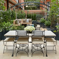 Knightsbridge Roof Terrace:  Commercial Spaces by Aralia