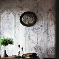 jasne wnętrze : styl , w kategorii Ściany zaprojektowany przez szaro-biało