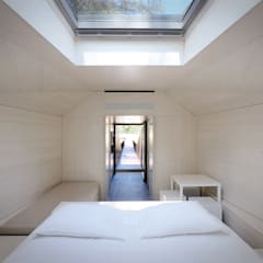 Hoteles de estilo minimalista de RA\\ Rebelo de Andrade Minimalista