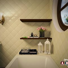 Bathroom by Дизайн-студия Анны Игнатьевой