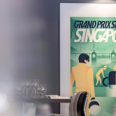 Singapore Grand Prix:  Stadiums by elliot James Pte Ltd