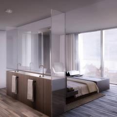 D/219: Dormitorios de estilo  de INTERCON, Moderno