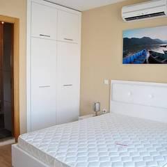 Estateinwest – Azure Villaları 3 Odalı İkiz Dubleksler:  tarz Yatak Odası