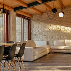 Living room by Viviana Pitrolo architetto