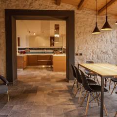 غرفة المعيشة تنفيذ Viviana Pitrolo architetto