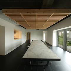 건우씨네 집수리(KUNWOO'S JIP-SOORI): 무회건축연구소의  다이닝 룸