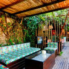 Puerto de Cuba, Terraza Bar: Bares y Clubs de estilo  de Ortho Estudio