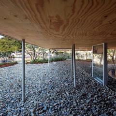 Pit house: UIDが手掛けた庭です。