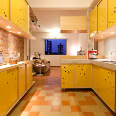 Kitchen by Zoom Urbanismo Arquitetura e Design, Eclectic
