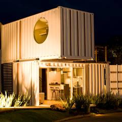 Loft-Container  20': Casas  por Ferraro Habitat