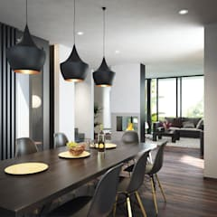 Fraccionamiento Novaterra: Comedores de estilo  por disain arquitectos