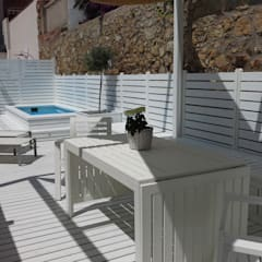 Terrace by Vicente Galve Studio,