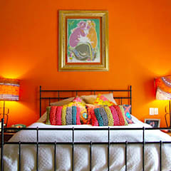 Eclectic style bedroom by Erika Winters® Design Eclectic