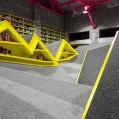 Niños Conarte: Salas multimedia de estilo  por Anagrama