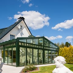 modern Conservatory by Masson-Wawer Wintergarten GmbH