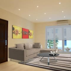 Breezy Court Residential Apartment Modern houses by Oui3 International Limited Modern