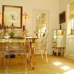 Dining room.: colonial Houses by Oui3 International Limited